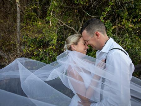 Aleasha and Matthew's Wedding Day.