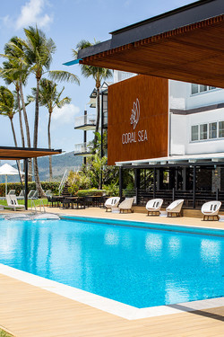 Coral Sea Resort Commercial Marketing Photography