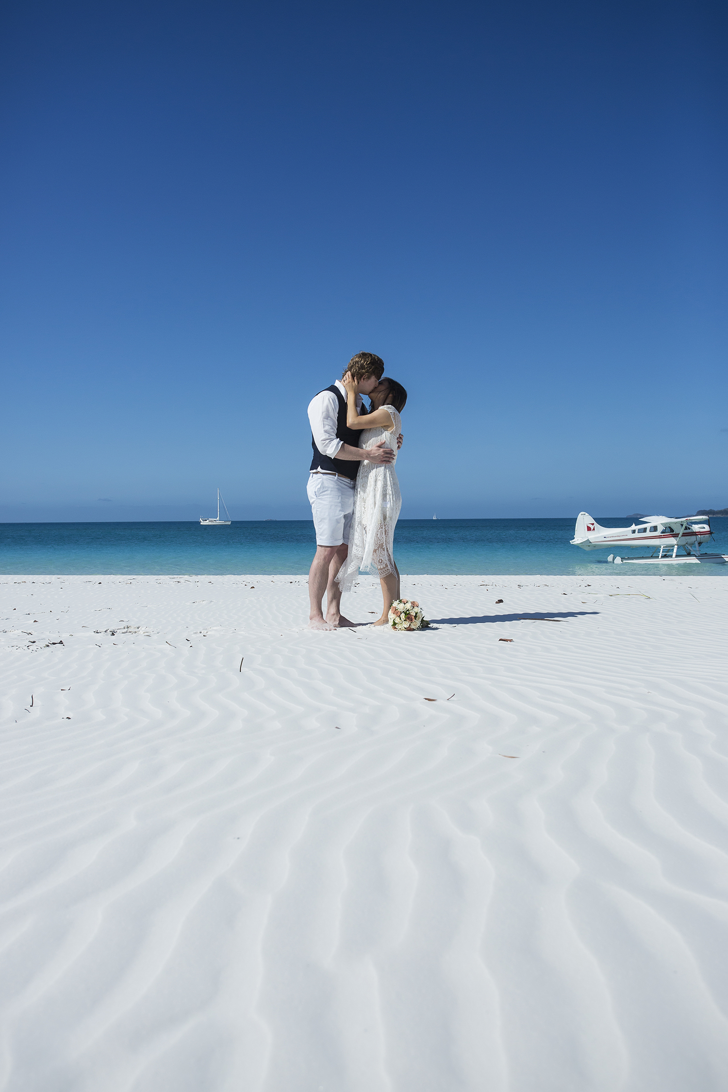 Whitehaven Beach Whitsunday Wedding Photography