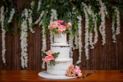 Wedding cake Wedding photography in the Whitsundays by Brooke Miles