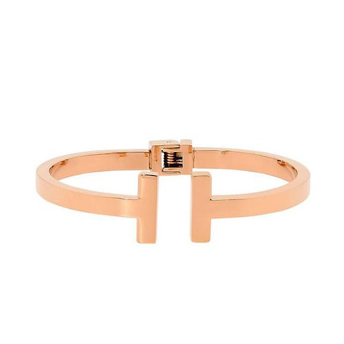 Rose Gold Meeting Bangle - SB170R