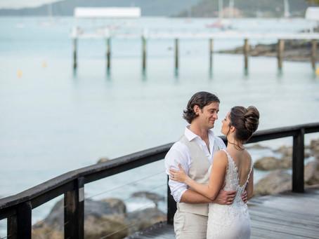 Kimberley and John's Intimate Wedding at Coral Sea Resort