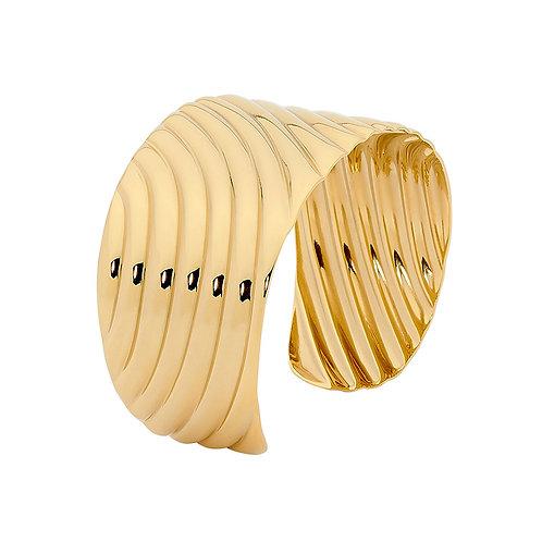 Chunky Gold Bangle - SB14SG