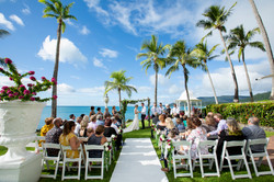 Coral Sea Resort Wedding photography in the Whitsundays by Brooke Miles