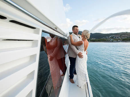 Hayley and Rob Get Married In Airlie Beach