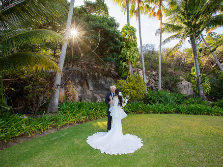 Anthony and Awatef's Beautiful Hayman Island Wedding