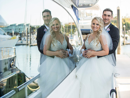 Melissa and Paul's Abell Point Marina Wedding