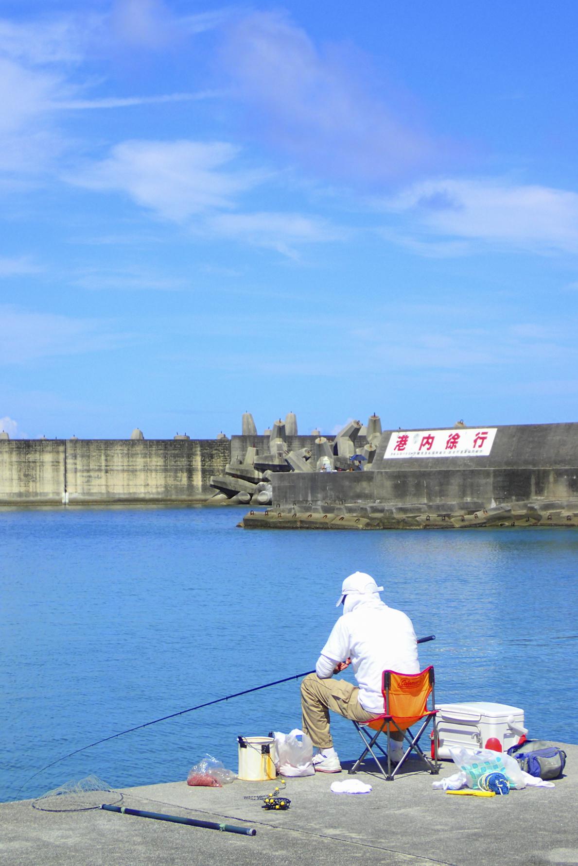 Soba Fisherman, Okinawa