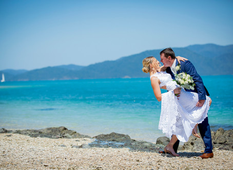 Angela and Dean's Blissful Daydream Island Elopement
