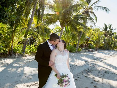 Elizabeth and Daniel's Intimate Wedding at Earlando.