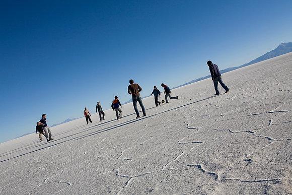 Soccer on the Salt Flats, Salar uyUni