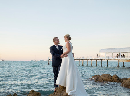 Abbi and Andrew's Stunning Wedding Day at Coral Sea Resort.