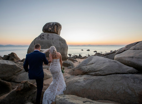 Sarah and Riley's Eco Resort Wedding
