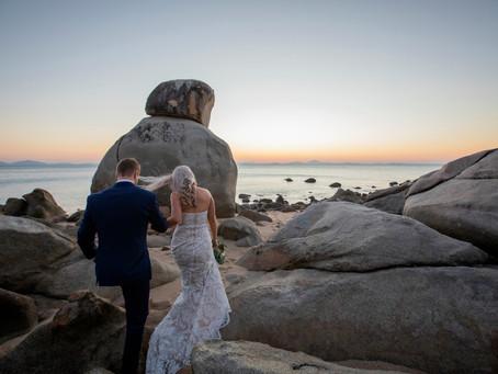 Sarah and Riley's Eco Resort Wedding