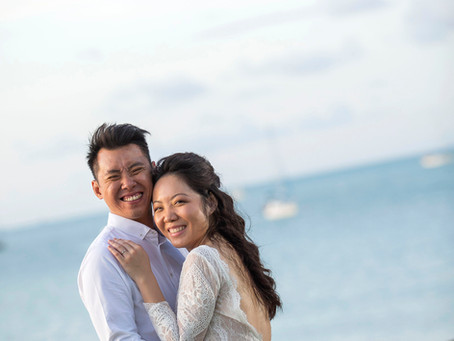 Jonathon Lau and Pang Li Jing's Leap Year Destination Wedding