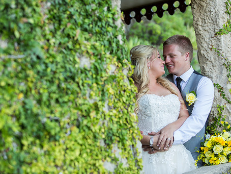 Catherine and Liam's Villa Dream Wedding!