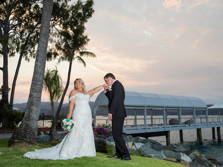 Kirsty and Jeffrey Get Married at Coral Sea Resort