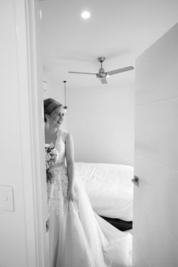 Black and white Wedding photography in the Whitsundays by Brooke Miles