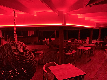 Commercial_Resort mood lighting_Islands_Palm Bay