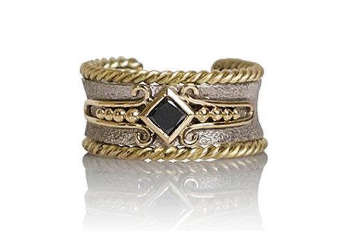 18ct White & Yellow Gold Ring