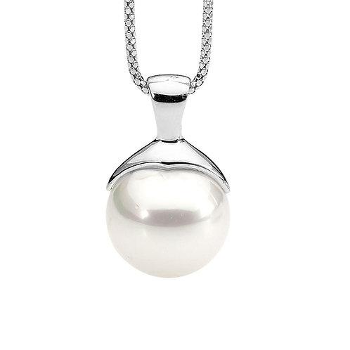 Large Pearl Pendant - p442w-2