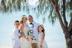 Wedding photography in the Whitsundays by Brooke Miles