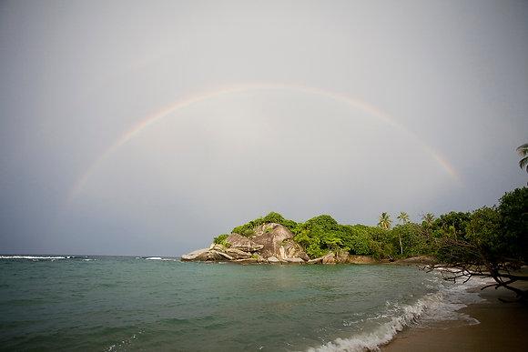 Caribbean Rainbow, Parque Tayrona