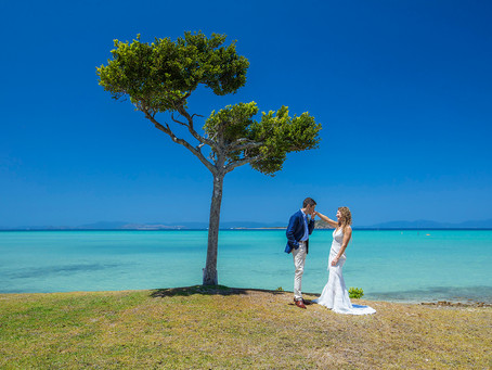 Angela and Alex's Wedding 'Shoot' at Hayman Island!