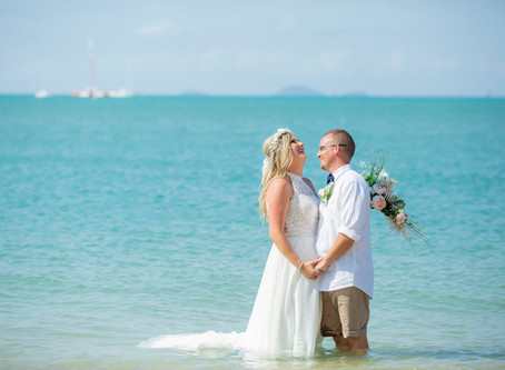 April and Shayn's Airlie Beach Wedding