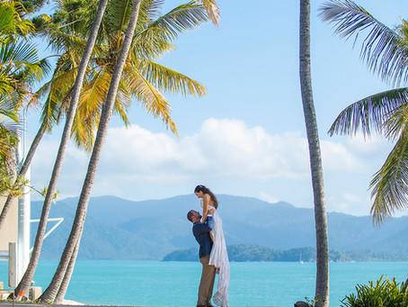 Shenece and David's Daydream Island Wedding