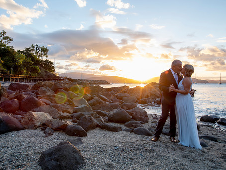 Ian and Anne's True Love Story Celebrated In Airlie Beach.