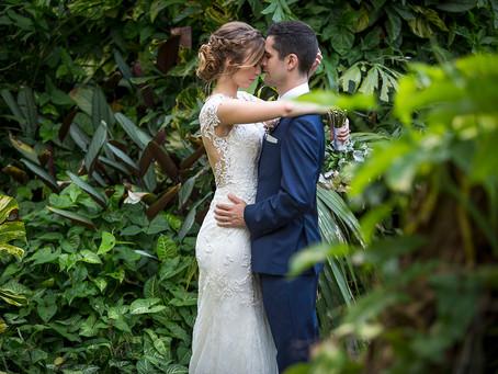 Shaileigh + David at Villa Botanica