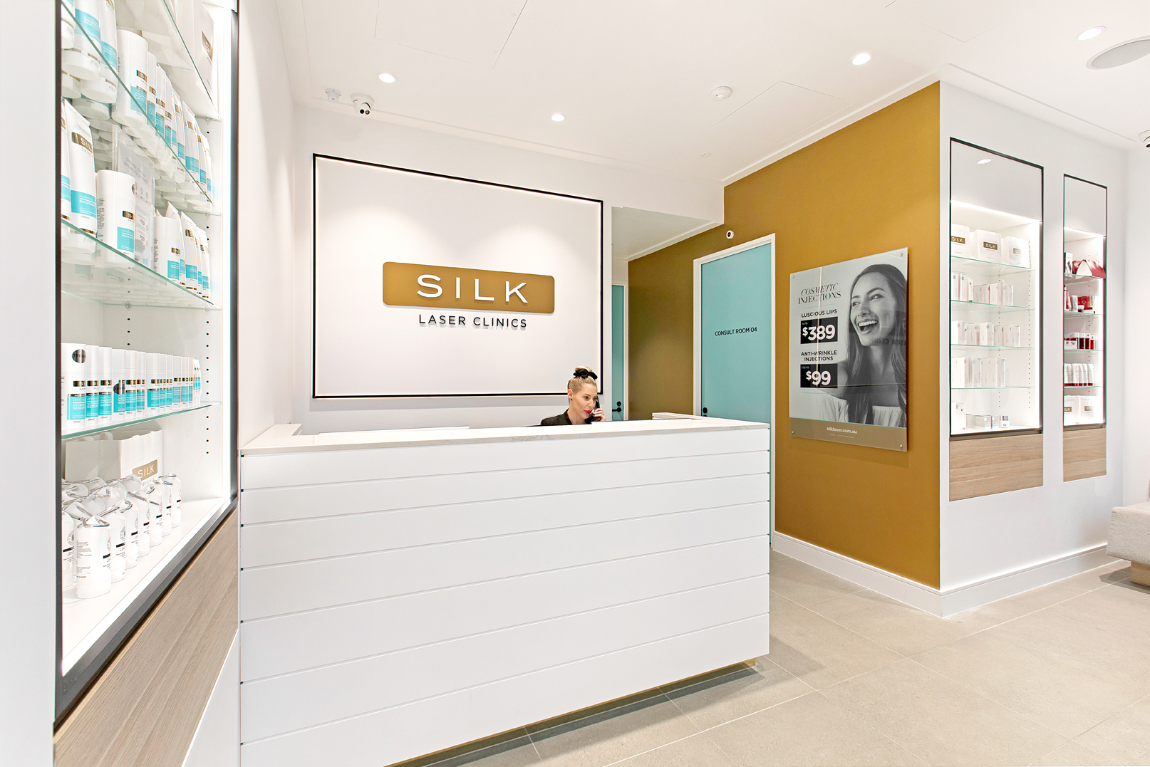 Silk Laser Clinic Commercial Marketing Photography