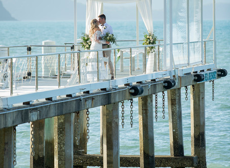 Louisa and Simon | Married on The Jetty