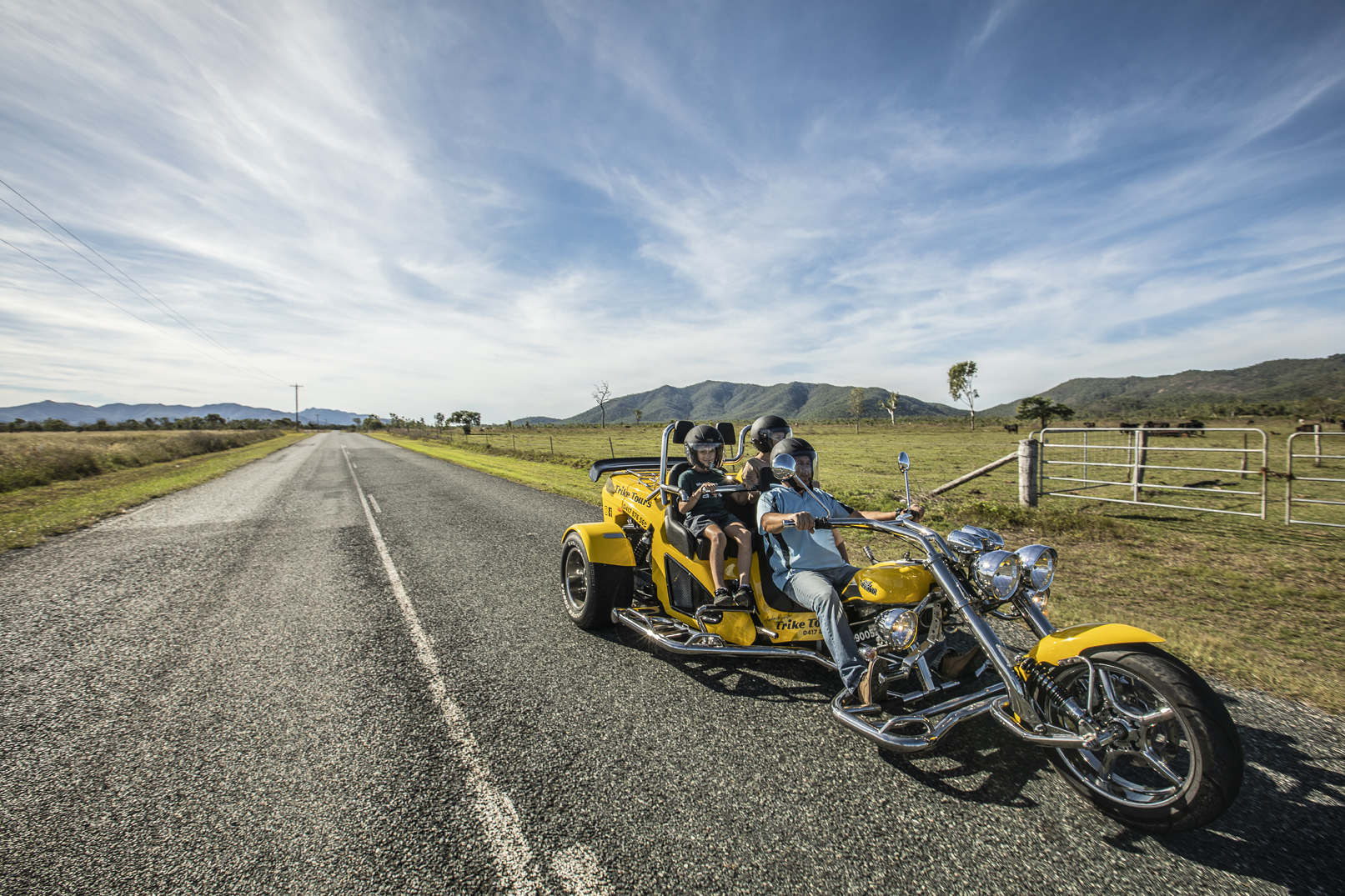 Whitsunday Trike Tours Commercial Marketing Photography