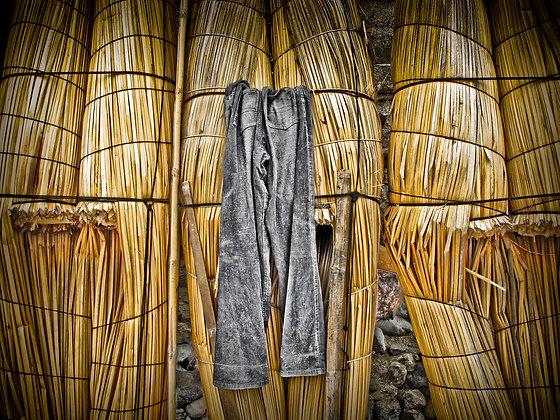 Huanchaco Fisherman Pants, Peru.