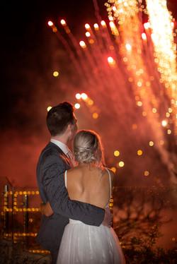 Villa Botanica Fireworks Wedding photography in the Whitsundays by Brooke Miles