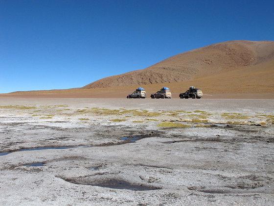 Touring on the Salt Flats, Salar uyUni
