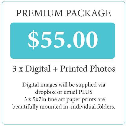 FORMAL PHOTOS - Premium Package