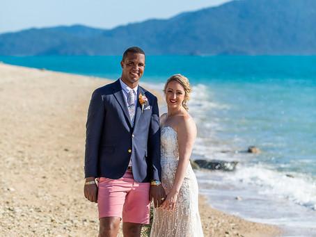 Lettina and Rockal's Bermuda Wedding at Daydream Island Resort