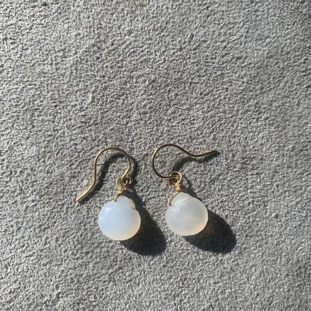 Moonstone earrings | $30