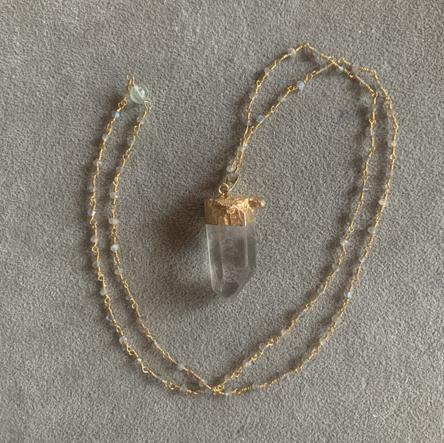 Clear Quartz | $60