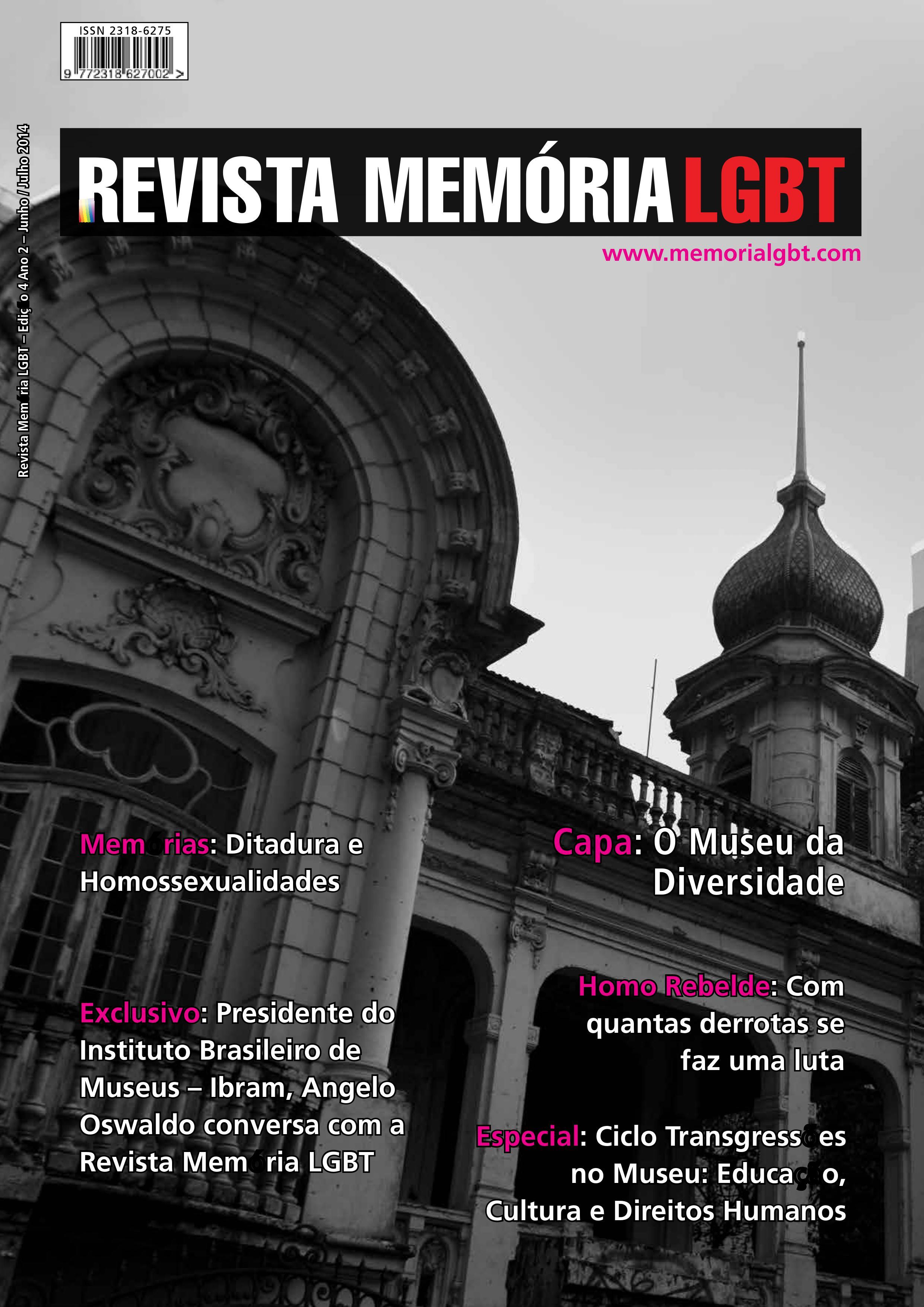Revista Memória LGBT - Edição 4