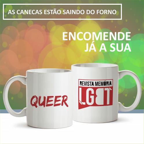 Caneca  QUEER - Memória LGBT
