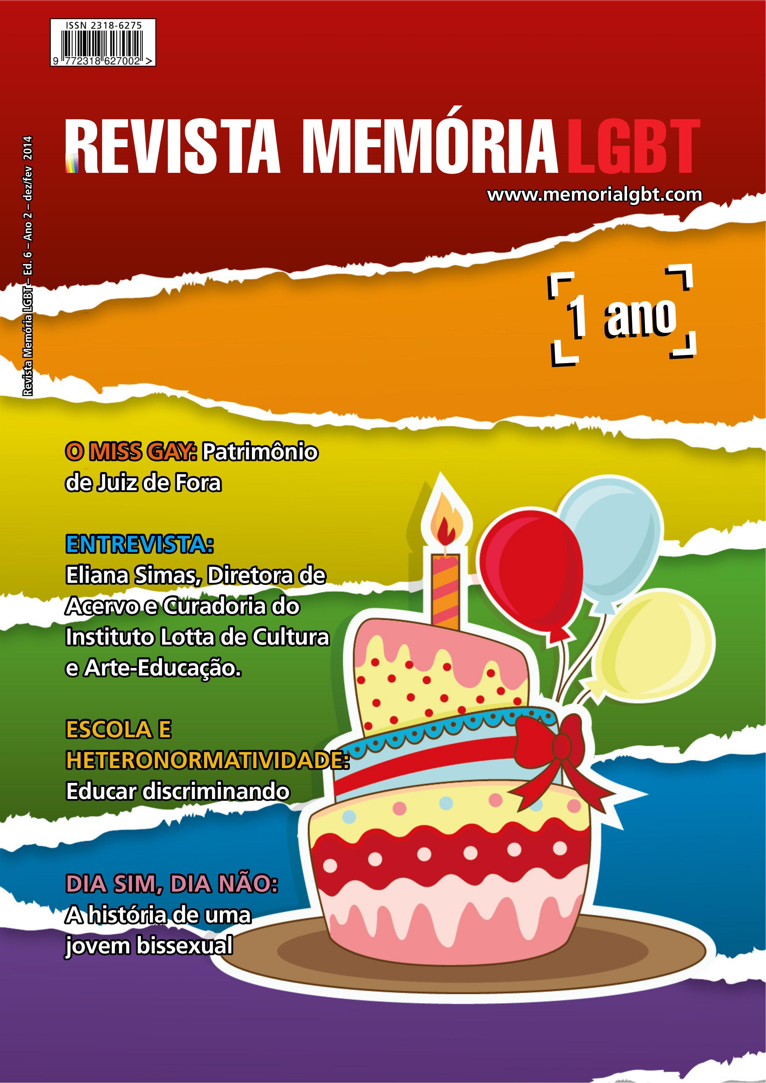 Revista Memória LGBT - Edição 6