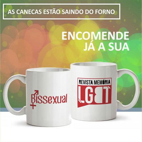 Caneca  BISSEXUAL  - Memória LGBT