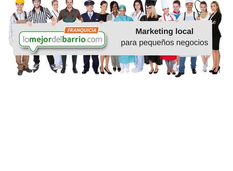 Marketing para los pequeños negocios