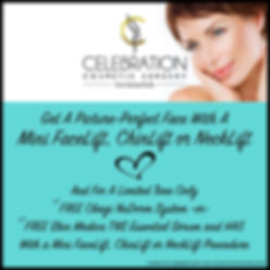 MiniFaceLift, ChinLift & NeckLift Promo.