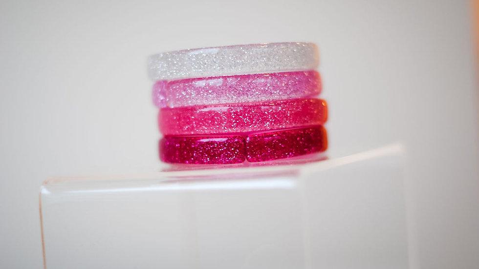 Girls Glitter Bangle Bracelet