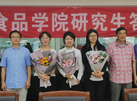 Congratulations to Dandan, Wenjun and Yating for the successful defense!
